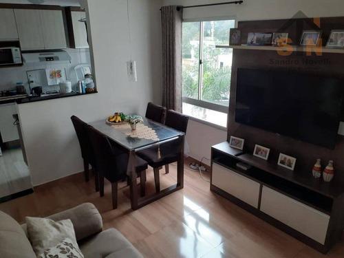 Imagem 1 de 18 de Apartamento Com 2 Dormitórios À Venda, 43 M² Por R$ 199.900,00 - Jardim Ansalca - Guarulhos/sp - Ap0189