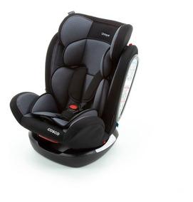 Cadeira Auto Unique 0 A 36 Kg Com 4 Reclinios Cinza Sport
