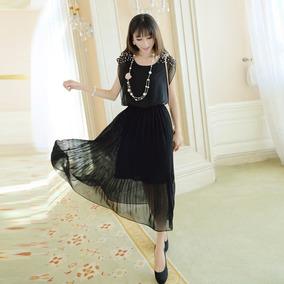 402280dfab Vestido Negro Elegante - Ropa y Accesorios en Mercado Libre Perú