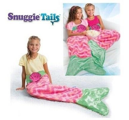 Coberta Calda De Sereia Saco De Dormir Infantil Cobertor