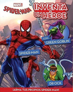 Marvel - Inventa Un Heroe - Spider- Man - Marvel Comics