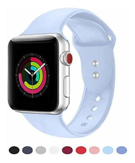 Correa Deportiva Compatible Con Iwatch 38 Mm 40 Mm 42 Mm 1.7