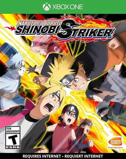 Naruto To Boruto: Shinobi Striker Xbox One Juego Sellado
