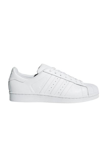 Zapatillas adidas Originales Superstar Blancas Talle 42