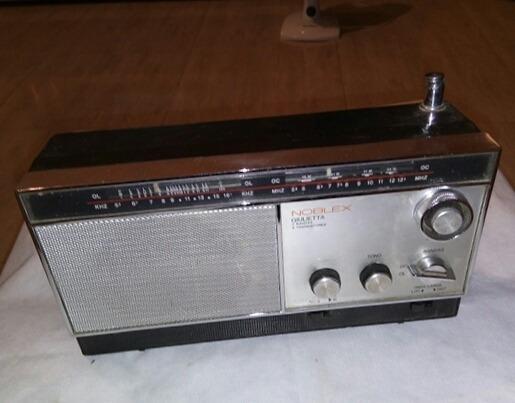 Raro Rádio Noblex 9 Transístores Funcionando Unico
