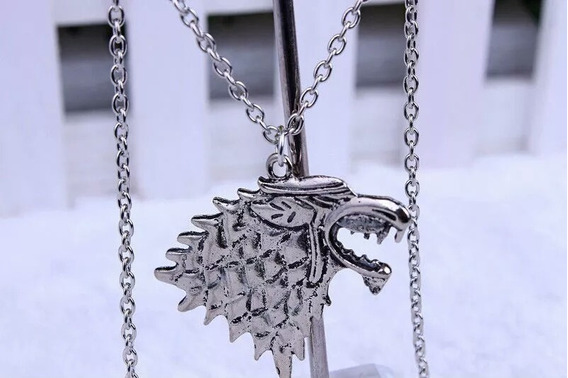 Collar Stark Necklace Game Of Thrones