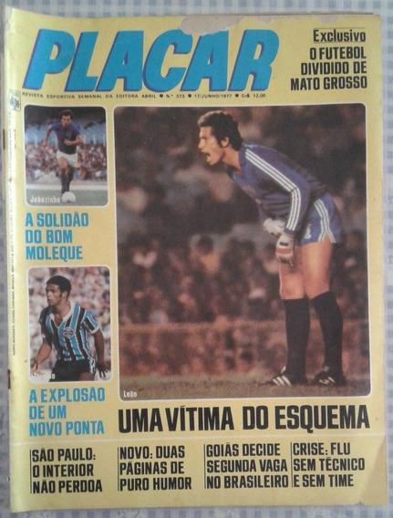 1977 Revista Placar Nº 373 Ed Abril Pôster Do Marcelo Do Cam