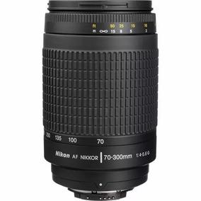 Lente Nikon 70x300 Mm Af1.8-f/4-5.6 + Parasol