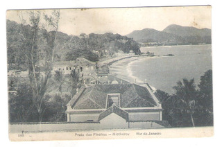 Postal Editor A.ribeiro 189 Praia Das Flechas Niterói