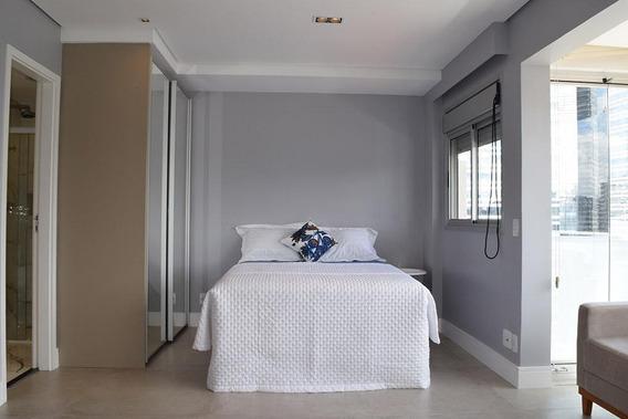 Lindo Apartamento Em Andar Alto Para Locação Próximo Ao Morumbi E Berrini! - Ap0781