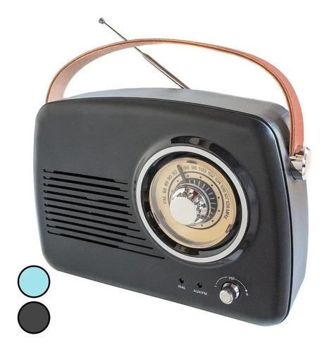 Radio Retro Vintage Portátil Recargable Bluetooth  Mp3 R