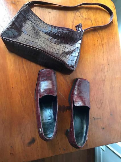 Conjunto De Zapatos Y Cartera Hush Puppies Última Moda