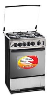 Cocina Combinada James C-225 Ch Inox - Laser Tv