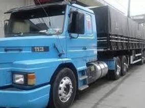 Scania 113 360 Ano 1998 Com Carreta Rondon 2008
