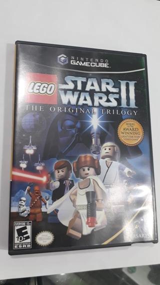 Jogo Star Wars Lego 2 100% Original Game Cube