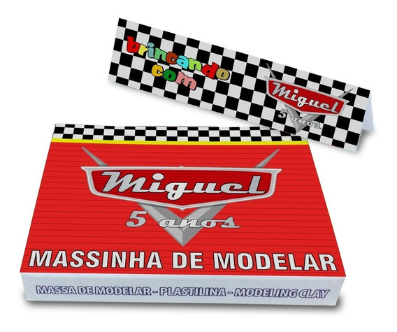50 Massinhas De Modelar Personalizadas Lembrancinha