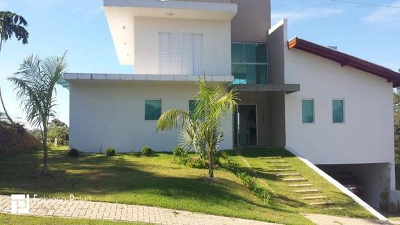 Casa Com 4 Dormitórios À Venda, 345 M² Por R$ 1.730.000 - Reserva Ibirapitanga - Santa Isabel/sp - Ca0051
