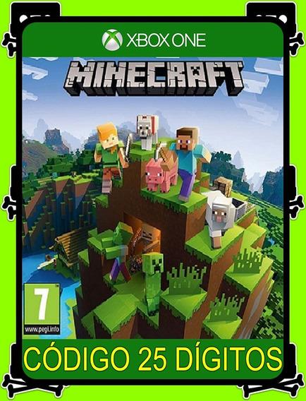 Minecraft Xbox One Português - 100% Original (25 Dígitos)
