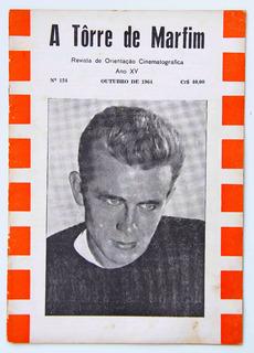 James Dean Na Capa Aa Revista A Torre De Marfim (1964)