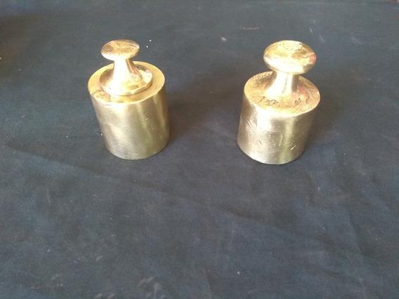 Peso De Balança, Antigo Em Bronze