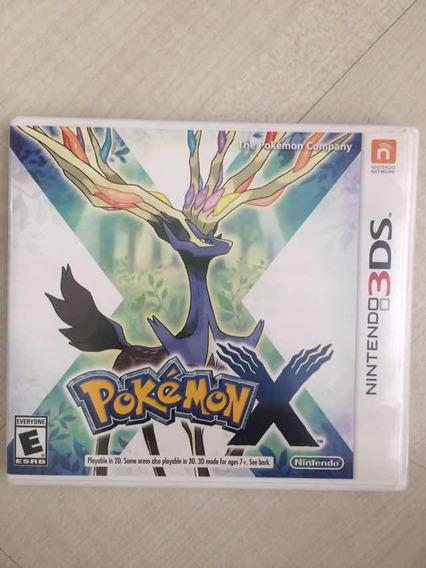 Pokémon X Nintendo 3ds Semi Nova