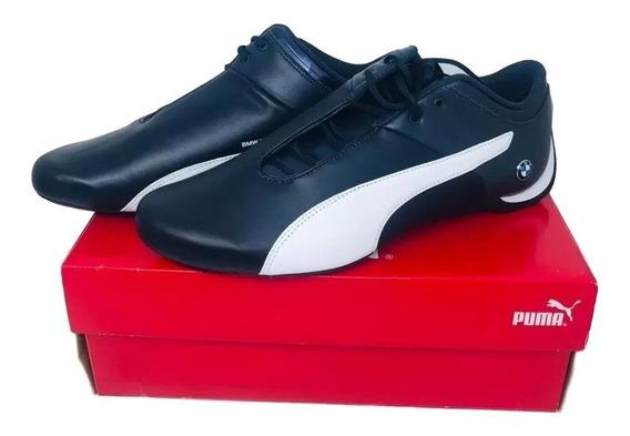 Tênis Puma Bmw Future Cat M1 Azul Marinho/branco 44 28,5cm