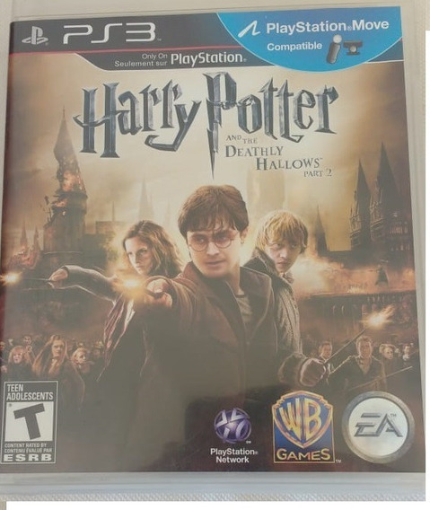 Harry Potter And The Deathly Hallows - Part 2 - Ps3 (usado)