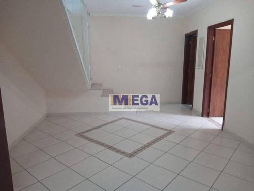 Imagem 1 de 16 de Casa Com 2 Dormitórios À Venda, 160 M² Por R$ 300.000 - Parque Residencial Vila União - Campinas/sp - Ca2445