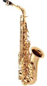 Saxofone Alto Eagle Sa501 Sax Laqueado Eb Mib Com Case