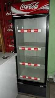 Heladera Vertical Ploteada Coca Cola