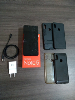 Redmi Note 5 - (tela Quebrada) - 64 Gb Memória E 4 Gb Ram