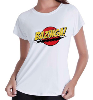 Camiseta Camisa Blusinha Feminina Bazinga The Big Bang Sheld