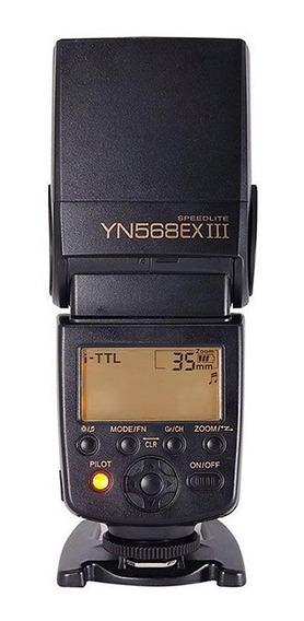 Flash Yongnuo Ttl Speedlite Yn-568 Ex Lll (canon) + Difusor