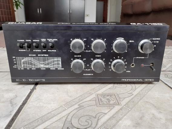 Amplificador Quasar Qa-1150 / Gradiente, Polyvox, Cygnus