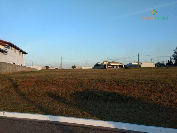 Terreno Em Condomínio Evidence ,em Araçoiaba Da Serra - Te0242