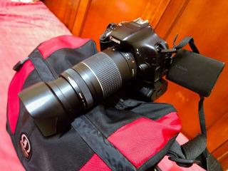 Promocion Camara ,canon T3i + Kit Lentes+flash Externo Canon