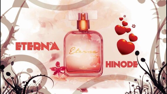 Perfume Eterna Crystal 100ml Hinode Entrega 24 Horas Úteis