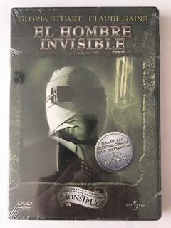 El Hombre Invisible Dvd Nuevo Monstruos De Universal Studios