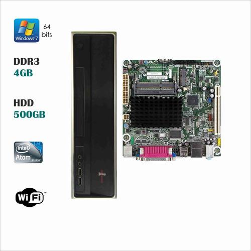 Imagen 1 de 2 de Cpu Mini Itx Intel Atom D525mw 1.8 Ghz 4 Nucleos