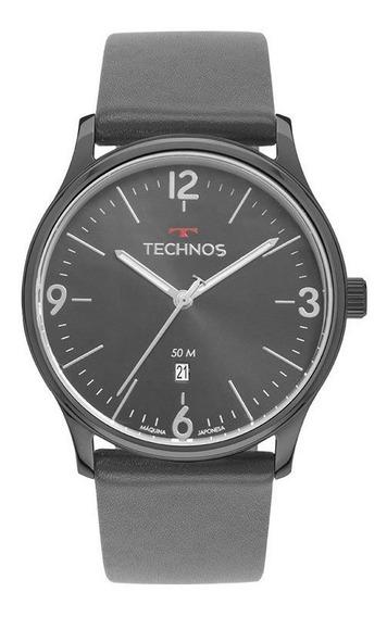Relógio Technos Steel Masculino Analógico 2115muo/2c