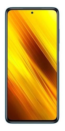 Imagem 1 de 5 de Xiaomi Pocophone Poco X3 Dual SIM 128 GB two shades of black 6 GB RAM