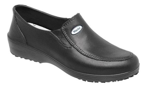 Sapato Calçado Eva Profissional Lady Works Soft Works Bb95