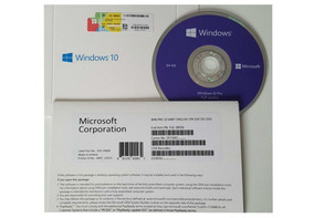 Windows 10 Professional - Pack Dvd 64bit + Coa + Nota Fiscal