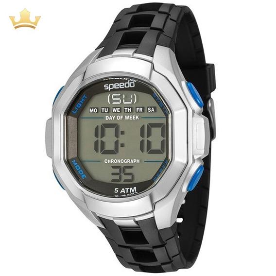 Relógio Speedo Masculino 81106g0eknp3, Com Nf
