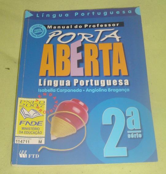 Língua Portuguesa 2ª Série - Porta Aberta - Manual Professor