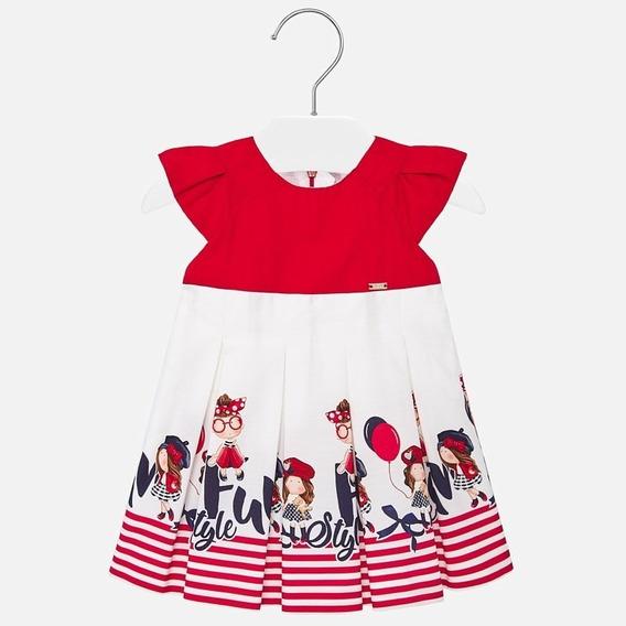 Vestido Dibujos Combinado - Mayoral Primavera Veran