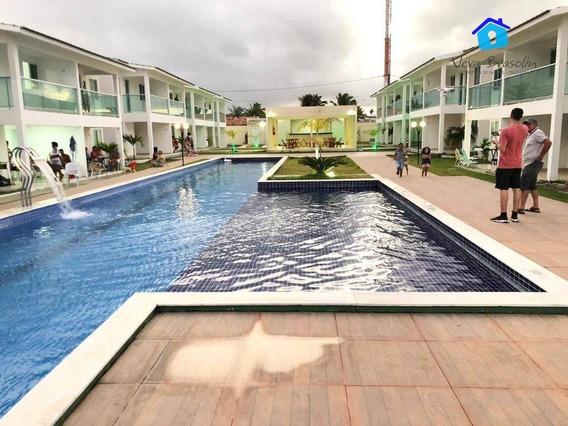 Casa Com 3 Dormitórios À Venda, 90 M² Por R$ 280.000,00 - Jacumã - Conde/pb - Ca0493