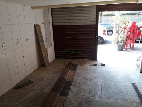 Loja Comercial - Locação - Rua Vicente De Souza - Botafogo - Lo0188