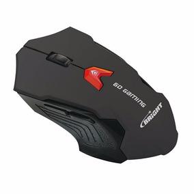 Mouse Gamer Óptico Preto 2400 Dpi Jogos - Bright 0462