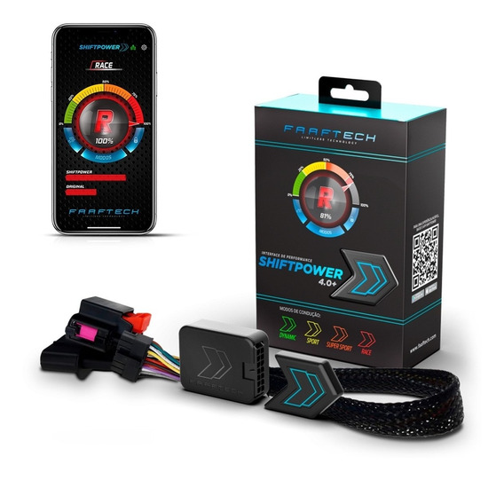 Power Shift Chip De Potência Acelerador Bluetooth Plug Play